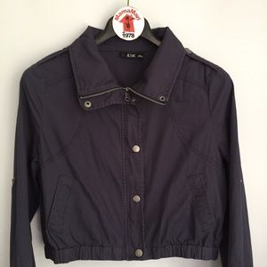 a.n.a A New Approach Blue Crop Jacket